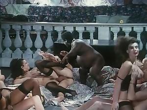 Orgy from Rotte e Sfondate (1995) Angelica Bella