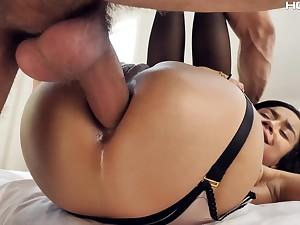 Hot Latina Maya Bijou received a big load of shit deep dominant anal crevice