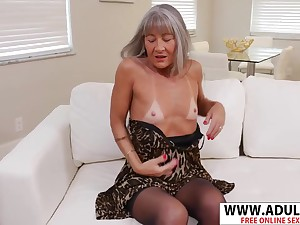 Fresh Impersonate Mother Leilani Lei Bangs Good 18-Years-Old Dad's Friend - leilani lei