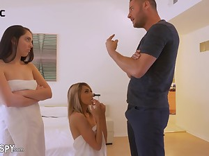 Lesbian Nanny Hime Marie Caught Shagged In Front Of Go steady with