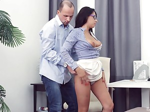 Chanel Lux sucks and rides a cock better than anyone else