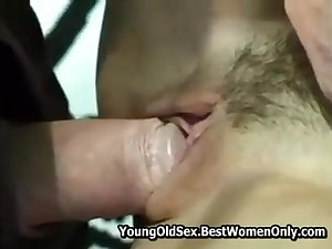 Teen Melody Having Sexual congress With Old Fellow Voyeur