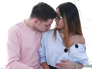 Infancy Analyzed - Roxy Lips - Anal love with hot nubile