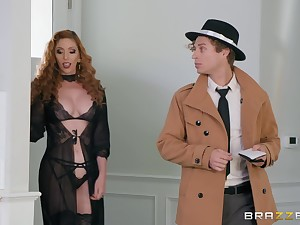 pretty Lauren Phillips has amazing ideas be useful to reaching good orgasm