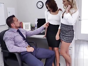 Isabelle Deltore increased by Isabella Nice blowjob Johnny Castles burly cock!