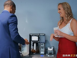 Brett Rossi enjoys interracial mad about with handsome black gay blade