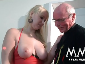 MMV Films Young Babe girl had making love by a grandpa