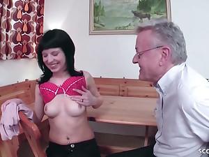 18yr Old German Wench Seduce On touching Pound
