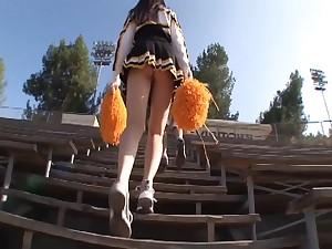 Hot Babe Black Haired 18Yo Cheerleader Sucking - ashlyn rae