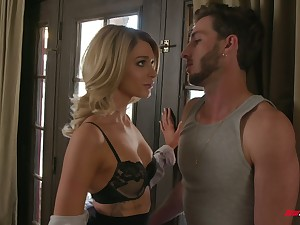 Despondent young housewife Emma Hix is horde love with pretty plumber