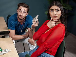 Violet Myers & Lucas Frost in Violets Backpack Hack - BRAZZERS