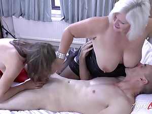 English adult whore Lacey Starr is obtainable for wild MFF threesome