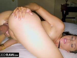 Nasty babe Avi Be in love with interracial porn video