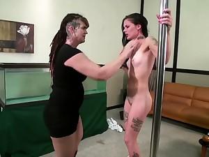 Lesbian Slave bdsm subjection slave femdom domination