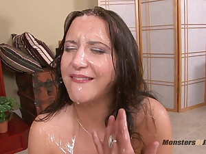StepDad Throat Fucks Bratty Daughter