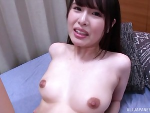 Amateur fucking atop the bed with hanker hair Japanese Kashiwagi Mai