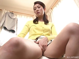 Japan MILF is serious when it comes just about porn