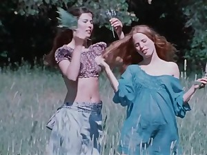 Antique porno film about a muddy mommy with 2 youthfull daughters-in-law